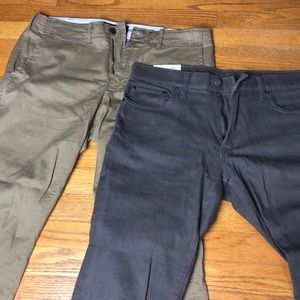 BUNDLE MENS ABERCROMBIE AND FITCH PANTS 32WX30L